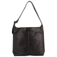 John Lewis Collection Weekend By Abigail Leather Shoulder Bag Black