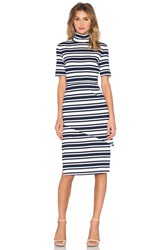 Finders Keepers Just My Luck Dress Navy