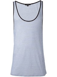 Unconditional Striped Tank Top Blue