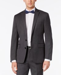 Ryan Seacrest Distinction Slim Fit Gray Birdseye Jacket Only At Macy's