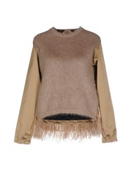 Ndegree 21 Sweaters Beige