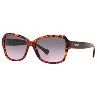 Coach Hc8160 Square Sunglasses Purple Confetti