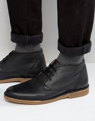 Selected Homme New Royce Leather Boots Black