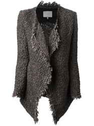 Iro 'Campbell' Loop Knit Cardigan Brown