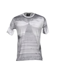Revolution T Shirts Light Grey