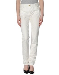 Roccobarocco Casual Pants White