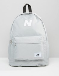 New Balance Mellow Backpack In Grey Grey