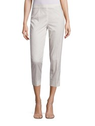 Piazza Sempione Audrey Printed Cropped Pants