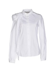 Veronique Branquinho Shirts Shirts Women White