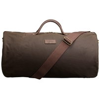 Barbour Wax Cotton Holdall Olive