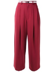 En Route Tailored Cropped Trousers