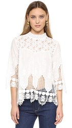Endless Rose Lace Blouse Off White