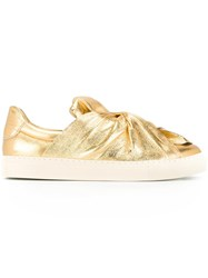 Ports 1961 Metal Bow Sneakers Metallic