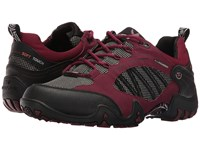 Allrounder By Mephisto Fabia Tex Black Rubber Winter Red T Nubuck N Women's Shoes