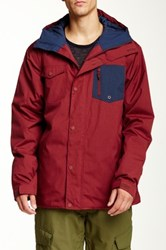 Quiksilver Versus Snow Jacket Red