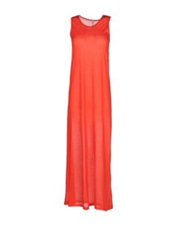 Aimo Richly Long Dresses Red