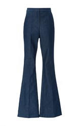 Macgraw Flagman Flare Denim Trouser Navy