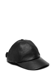 Kate Spade Leather Bow Baseball Hat