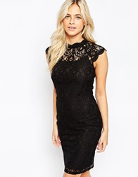 Oasis Gothic Lace Dress Multiblack