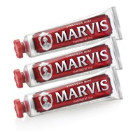 Marvis Cinnamon Mint Toothpaste Triple Pack 3 X 75Ml