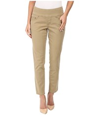 Jag Jeans Amelia Ankle In Bay Twill Toffee Women's Casual Pants Brown