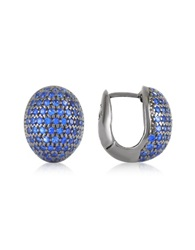 Azhar Blue Cubic Zirconia Earrings