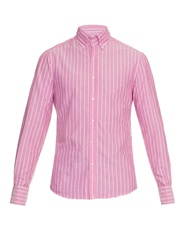 Michael Bastian Striped Cotton Shirt