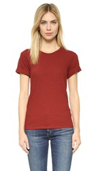 Theory Leibay Tee Red Oak