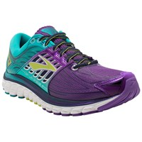 Brooks Glycerin 14 Women's Running Shoes Purple Green