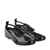 Comme Des Garcons Derbies Clear Black