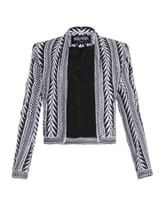 Balmain Tribal Embroidered Jacket