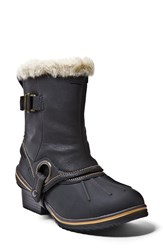 Women's Blondo 'Mila' Waterproof Boot With Faux Fur Trim 1 1 2' Heel