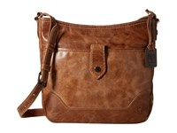 Frye Melissa Button Crossbody Beige Cross Body Handbags