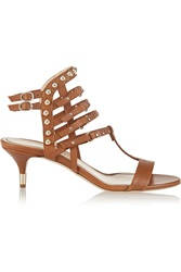Jerome C. Rousseau Camden Studded Leather Sandals