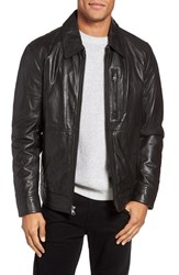 Marc New York Men's By Andrew Hanover Leather Shirt Jacket