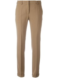 Incotex Classic Tailored Trousers Brown