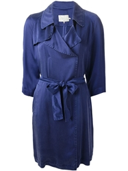 L'autre Chose Belted Lightweight Trench Coat