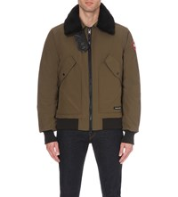 Canada Goose Bromley Down Filled Shell Jacket Military Green