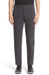 Armani Collezioni Men's Stretch Cotton Chinos