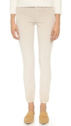 James Jeans Penney Corduroy Cigarette Pants Winter White Corduroy