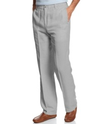 Tommy Bahama Big And Tall New Linen On The Beach Pants Filter Grey