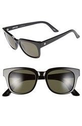 Electric Eyewear Women's Electric '40Five' 50Mm Retro Sunglasses Gloss Black Grey