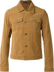 Blk Dnm Patch Pocket Jacket Brown