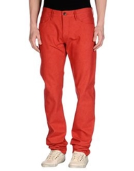 3X1 Denim Pants Red