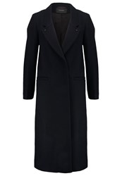 Maison Scotch Classic Coat Night Blue