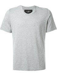 Hydrogen 'Icon' T Shirt Grey
