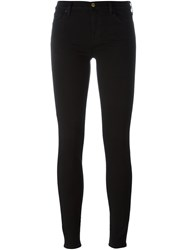 7 For All Mankind Ankle Skinny Jeans Black