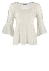 Cream Lika Blouse Chalk Off White