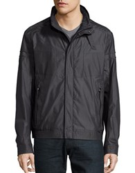 Hugo Boss Lightweight Bomber Jacket Black