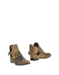 Heimstone Ankle Boots Sand